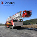 API 4F double drum XJ450 truck-mounted workover drilling rig