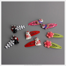 Kids Lovely Cartoon Acrylic Hairpin Baby Cute Puppy & Kitty & Flower Hair Accessory HC180
