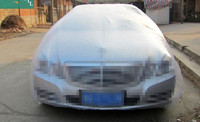 PE Clear Plastic Disposable SUV Car Cover