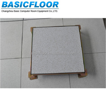 anti-static cementitious raised access floor system