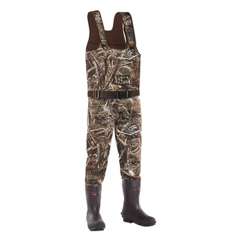 High Quality Mens Duck Hunting Wader Waterfolw Hunting Wader 3.5MM Neoprene Hunting Wader
