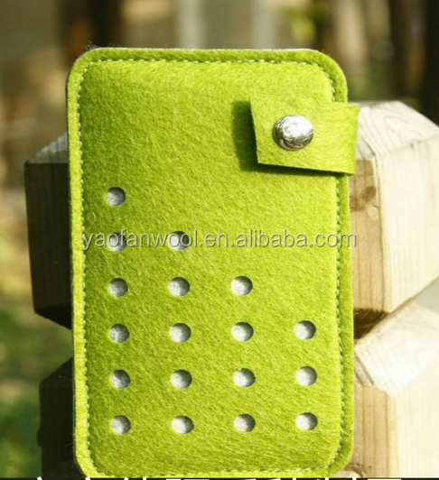 Wholesale best seller felt case mobile phone