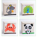 Cute Animals Pattern Decorative Storage Basket