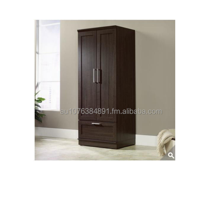 Wardrobe Cabinet Storage Bedroom Closet Furniture Wood Clothes Organizer