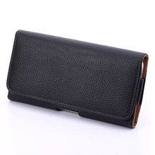 PU leather phone case for iPhone 6 universal waist phone bag for samsung mobile accessories