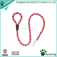 Colorful velvet dog sex dog slip collar leash