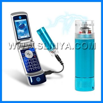 Barrel AA Battery 5V Mobile Phone Emergency Backup Charger