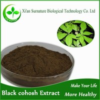 Factory 100%Natural Black Cohosh Extract triterpenoid saponins
