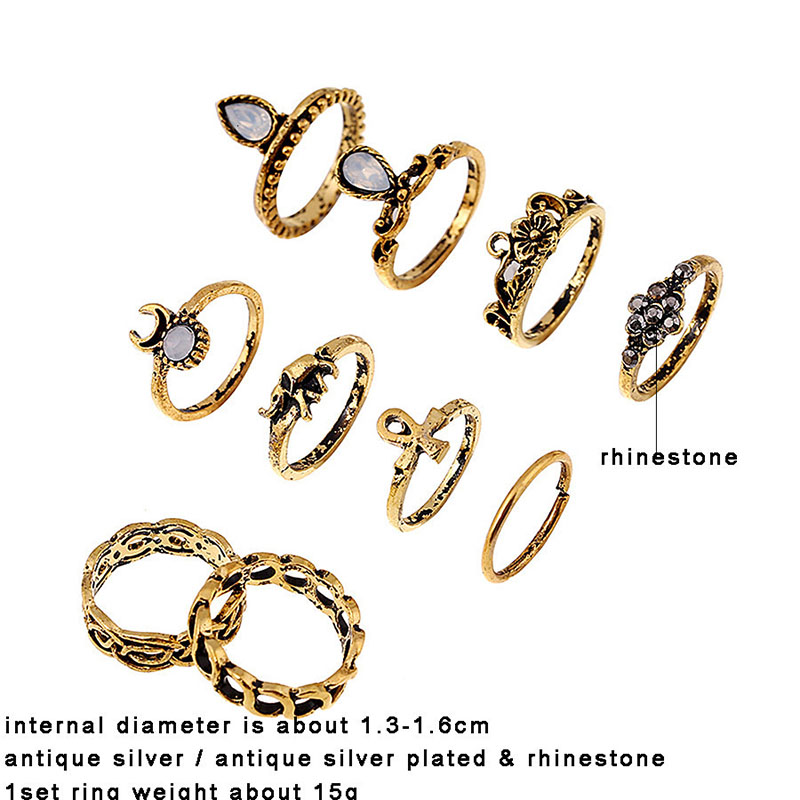 Bohemia Womens Statement Rings High Quality Fashion Boho Luxury Brand Rings