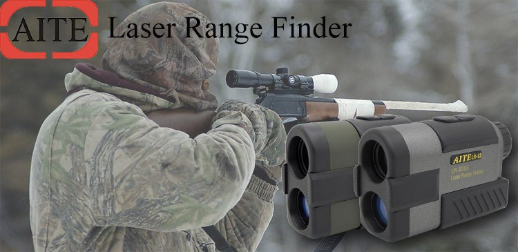 Portable high accuracy water resistant OLED laser rangefinder