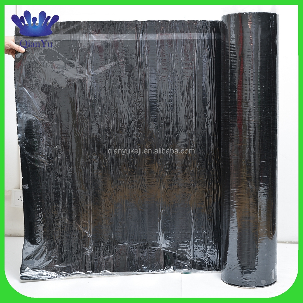Hot selling hdpe/eva self-adhesive bitumen waterproofing membrane