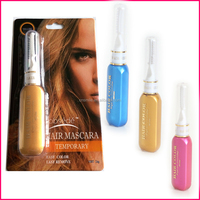 New fashion hair colors waterproof hair mascara for personal color hair dyes