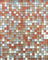 interior dacoration of glass mosaic tile