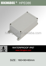 Plastic polyester enclosures/Wall mounting waterproof plastic box HPE086