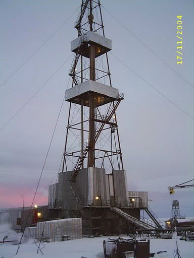 used drill tower URALMASH ZD-76