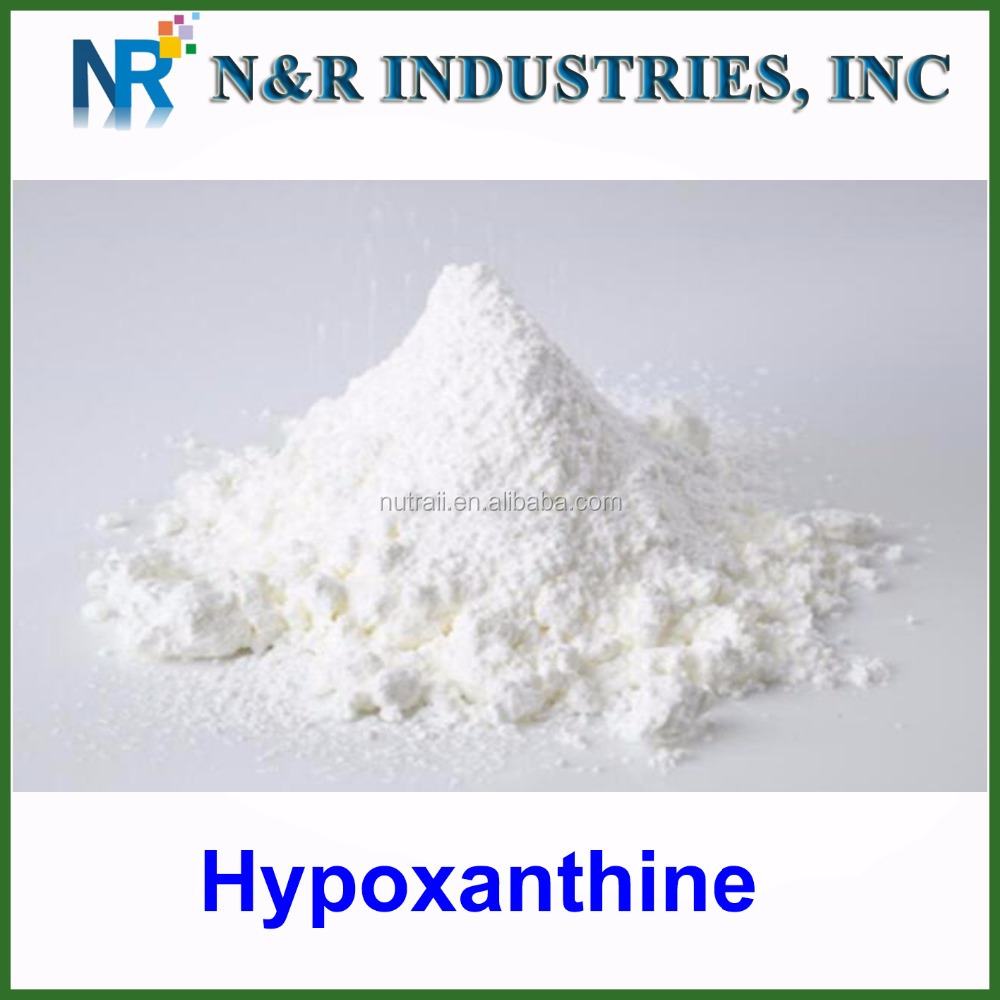 GMP factory supply high quality Hypoxanthine powder/ hypoxanthine