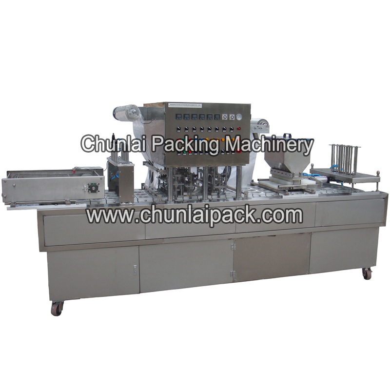 Cornflakes Cup Filling and Sealing Machine
