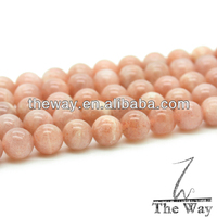 High quality red moonstone beads 10mm ,gold spot sun stone