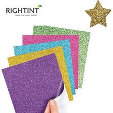 Wholesale New Product Colorful self adhesive gold glitter paper