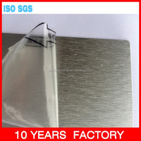 Wanfa 216 hot sale surface clear protection pe film for aluminum plate