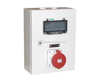 Industrial Combination plug socket Power box with IP67/IP44