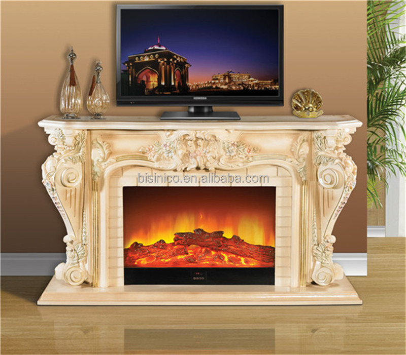 Luxury french style decorative electric fireplace Luxury fireplaces luxury homes