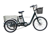 36V 250W electric delivery tricycle long range electric tricycle used