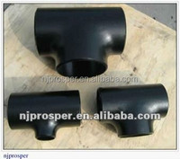 high pressure carbon steel a105 pipe fittings tee (YZF-Y443)