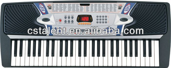 54keys electronic midi keyboard