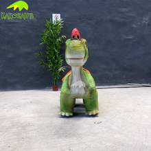 KANOSAUR7935 Amusement Park Battery Operated Cartoon Dinoaur Ride For Sale