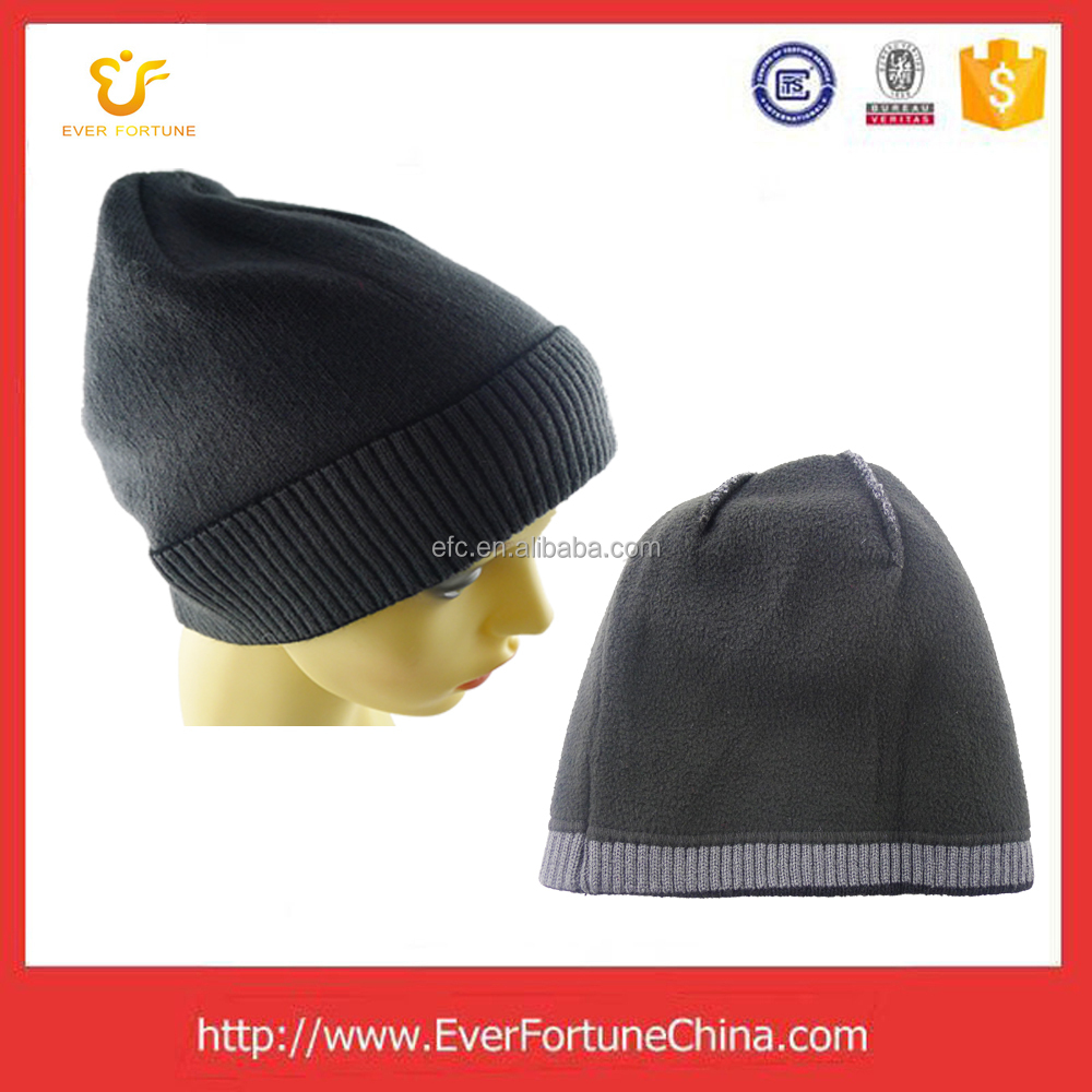 Factory price winter hat knitted beanies hats and caps men beret cap