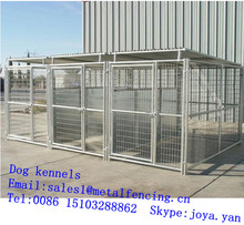 Pet breeding cages kennels playground dog running kennels 2.9mx4.5mx1.8m portable dog kennels metal panels dog kennels