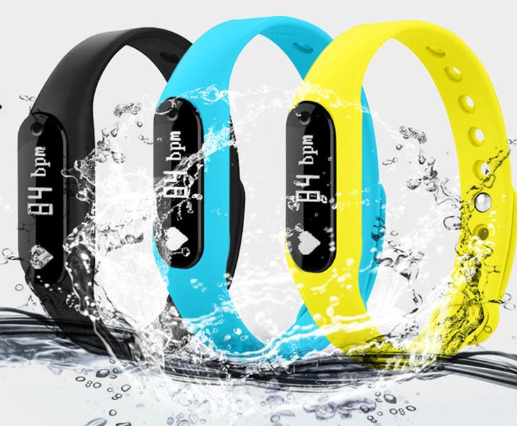 Newest C6 Xiaomi Band fitness tracker with heart rate monitor