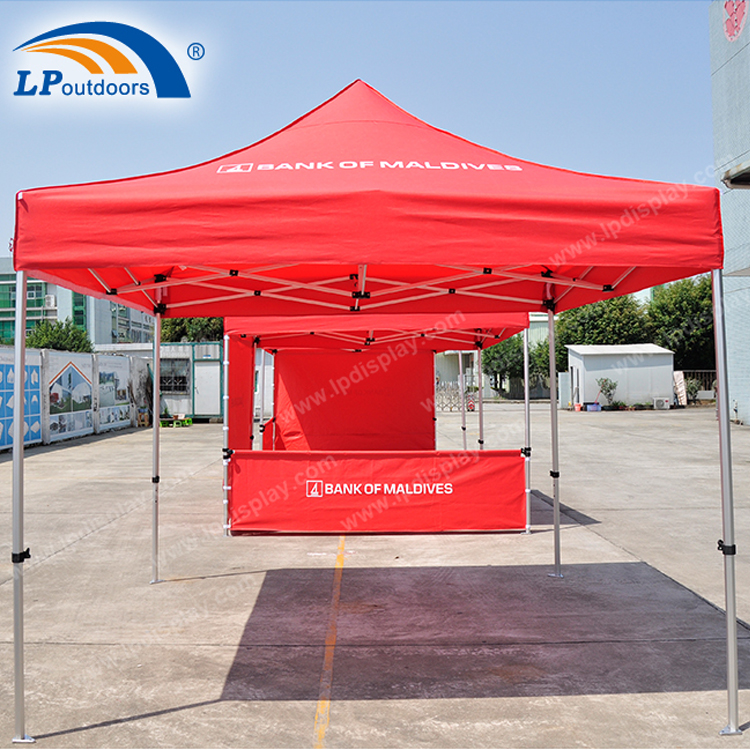 Customized 3x3m Folding Tent Outdoor Canopy For Advertising