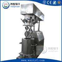 LAB Silicon Rubber Dual Planetary Mixer