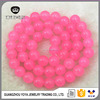 MJ3014 Wholesale pink Malaysian jade stone beads,loose natural gemstone beads for bracelet necklace