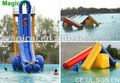 Giant inflatable water slide/straight inflatable slide
