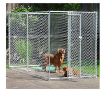 Outdoor dog run cage / heavy duty dog kennel hot sale for US market