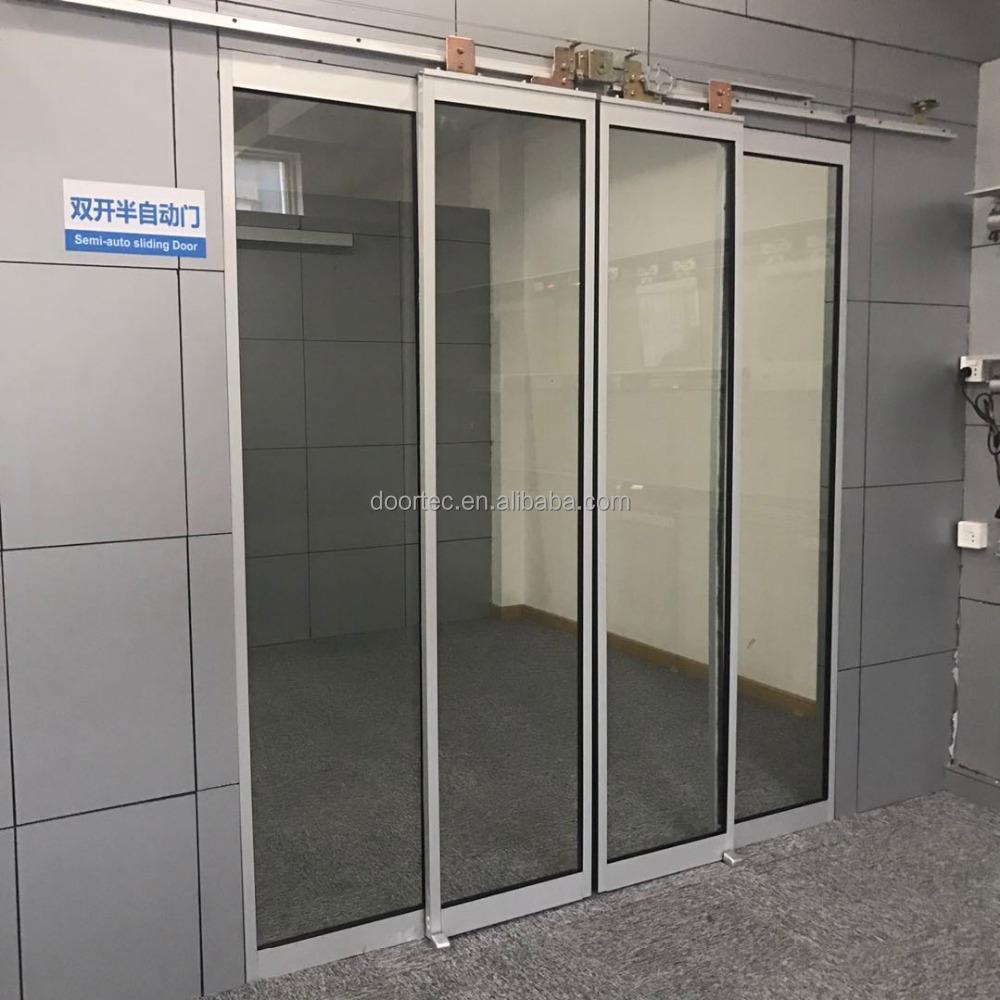 Doortec Semi Automatic Sliding Door Mechanism Double Open Buy Semi
