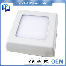 Kitchen Use Super Bright Smd2835 Round Square Ultra Slim 6w 18W Surface Ceiling Led Panel Light
