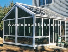 soundproof glass partition round Glass house