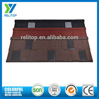 Direct factory stone coated metal roofing shingles