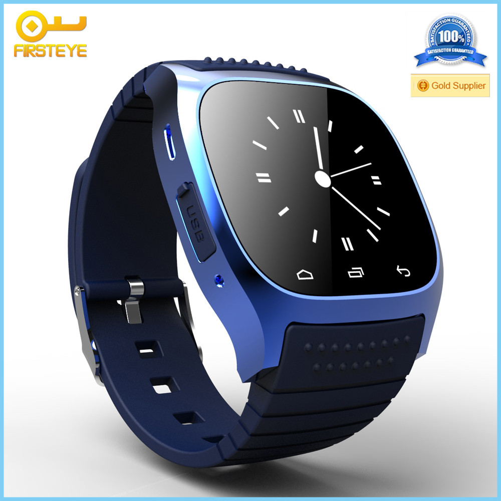 wholesale Alibaba oem factory china new smart watch m26 Anti-Lost Android Smart watch phone