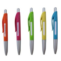 Wholesale plastic pen window ballpoint pen refill