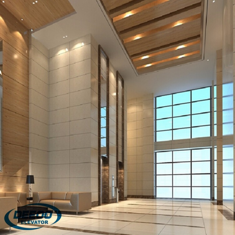 glass small home elevator lift with international standard home elevator parts