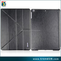 2015 new products for ipad air smart cover, flip pu case for ipad air