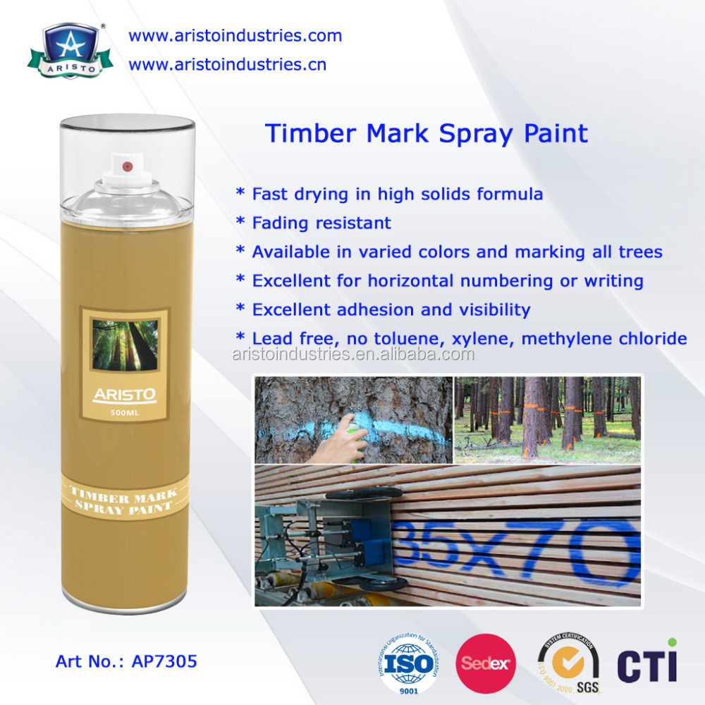 High Visibility/multiple color Timber Mark Spray Paint