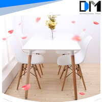 MDF coffee table , square wooden restaurant table , dining table