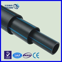 CE certificate qualified 6 inch sdr 26 dn200 hdpe pipe of pe 100
