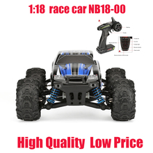 1/18 High Speed 2.4G Waterproof Remote Control Bule Nitro Rc Car